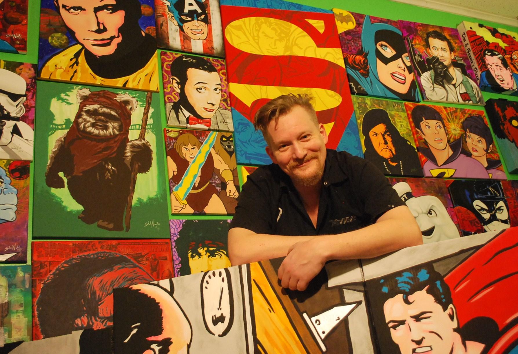 artist Shad Nowicki